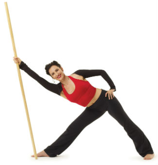 Yoga with a Dowel