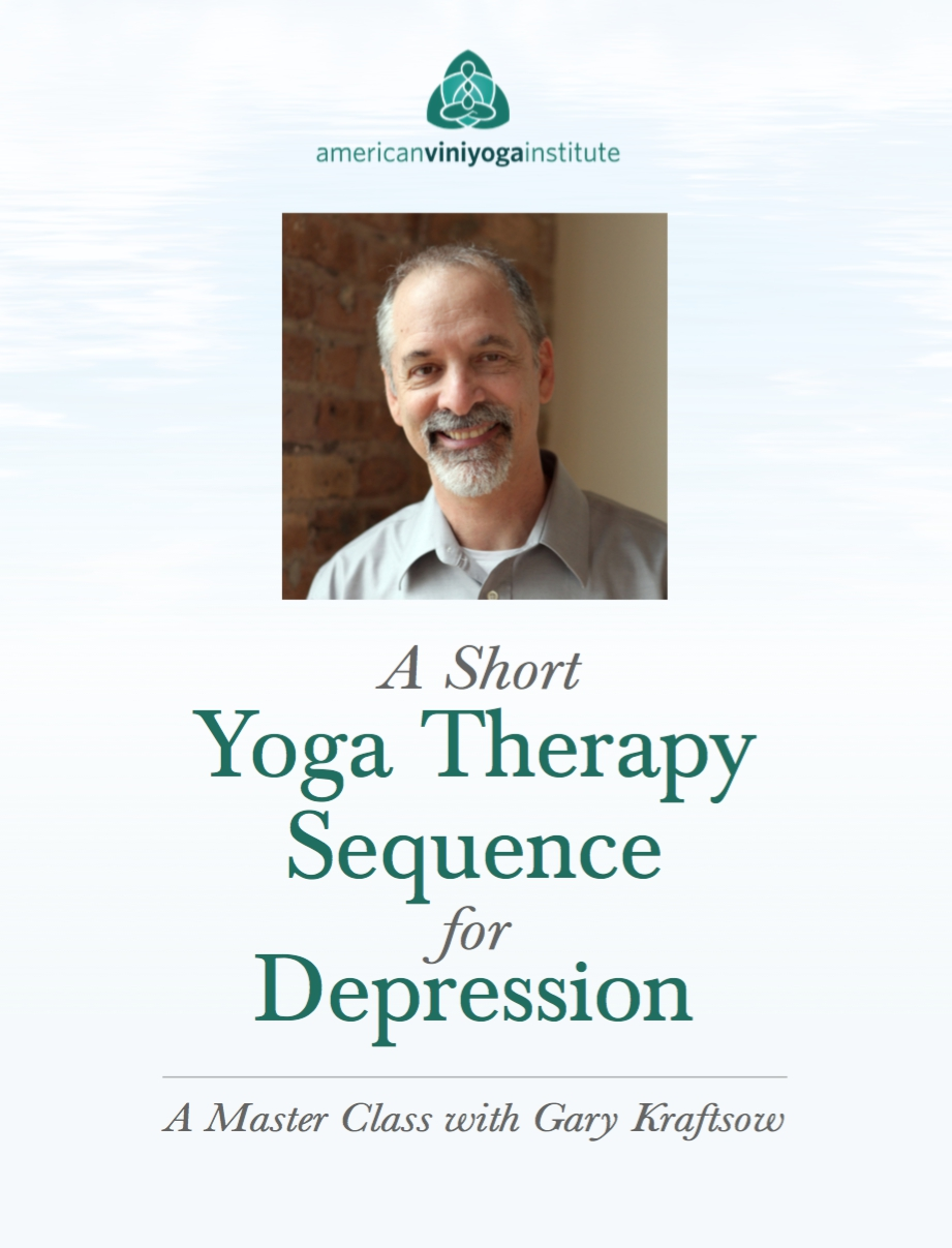 As Seen In Yoga Therapy For Depression