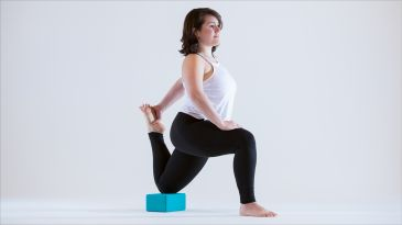 how to use sandbags in your restorative yoga practice