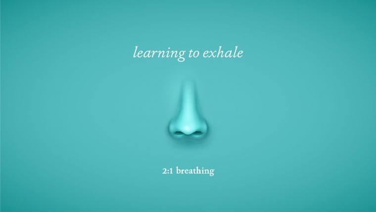 2-to-1 breathing