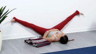 yin yoga at the wall  yoga international