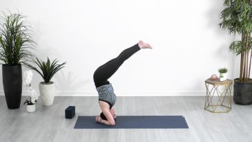 think you're not flexible enough for hanumanasana