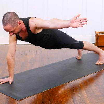 one leg king pigeon pose  yoga international