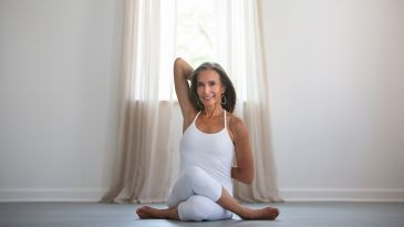 "agnistambhasana learn ""ankle to knee"" pose"