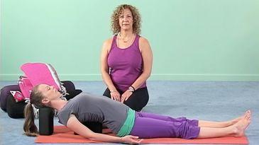 Yoga Pose: Viparita Karani (Legs Up the Wall)