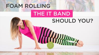 Foam Rolling IT Band