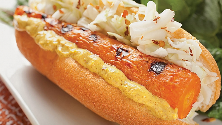 Grilled Carrot Dog