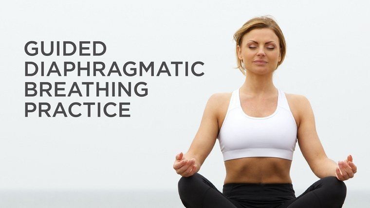 Guided Diaphragmatic Breathing