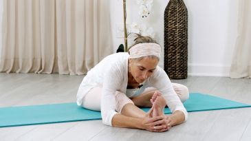 a lower backfocused yin sequence  yoga international