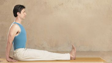 learn to float to seated position  yoga international