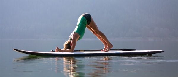 Stand-Up Paddleboard Yoga