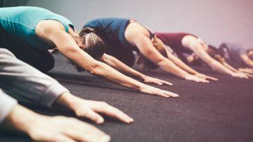 a meditative moon salutation  yoga international