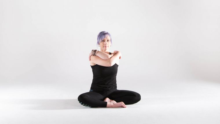 yoga-practice-of-eagle-arms-for-relieving-neck-and-shoulder-tension
