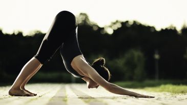 correcting hyperextension in common yoga poses