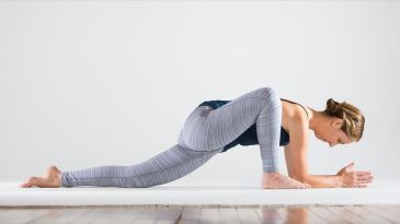 a propsupported yin yoga sequence  yoga international