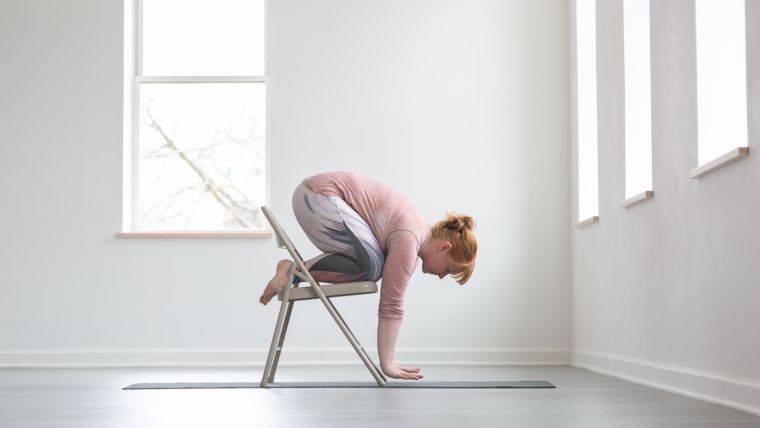 chair-supported-crow-pose-practice