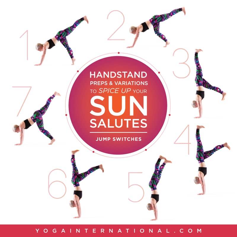 Handstand variations