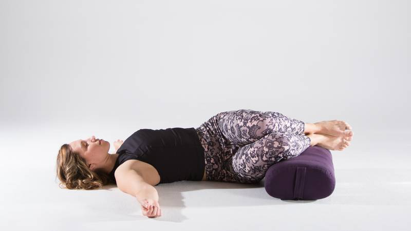 A Prop Supported Yin Yoga Sequence