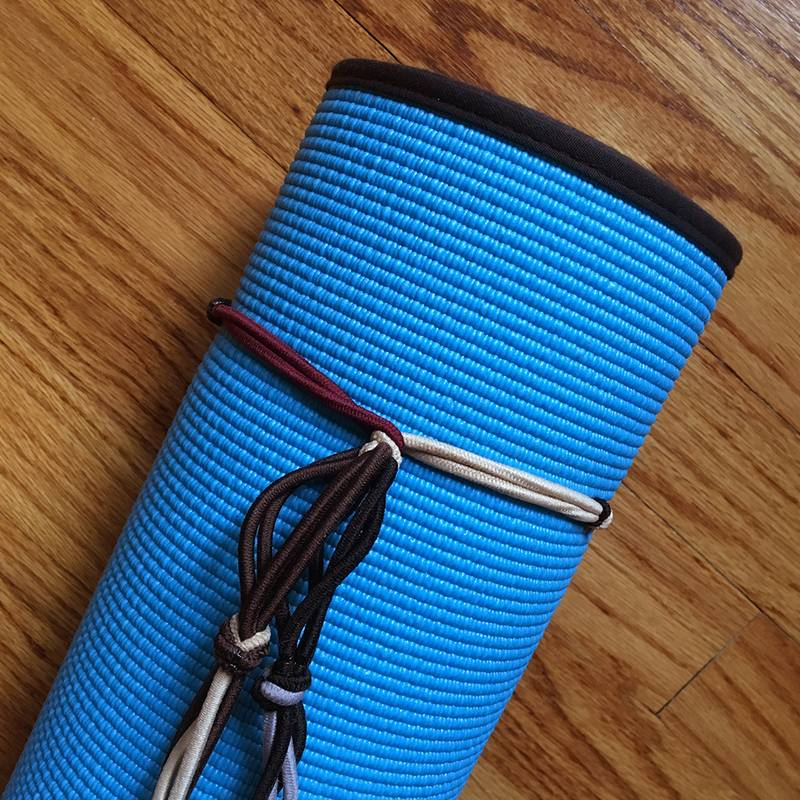 DIY Yoga Mat Holder