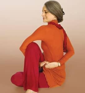 Yoga Spinal Twist