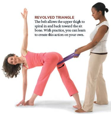 Revolved Triangle and the Hips