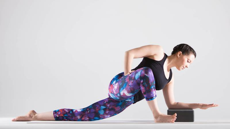 A Hip Focused Yin Yoga Sequence