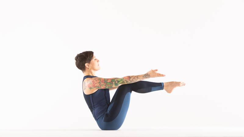 3 Ways To Rock Your Boat Pose
