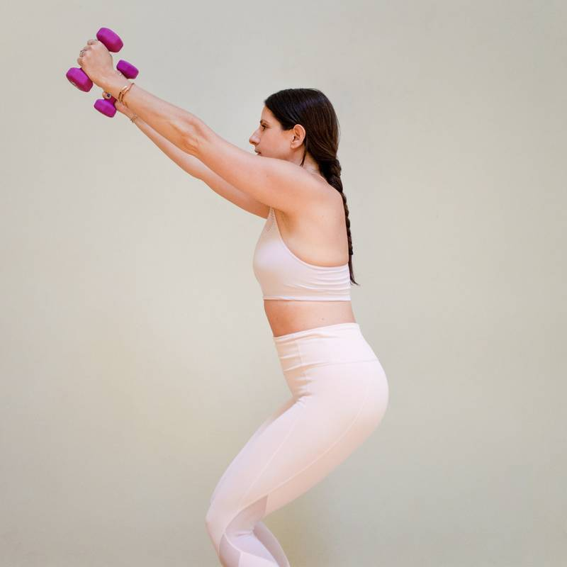 5 Ways To Incorporate Free Weights Into Your Yoga Practice