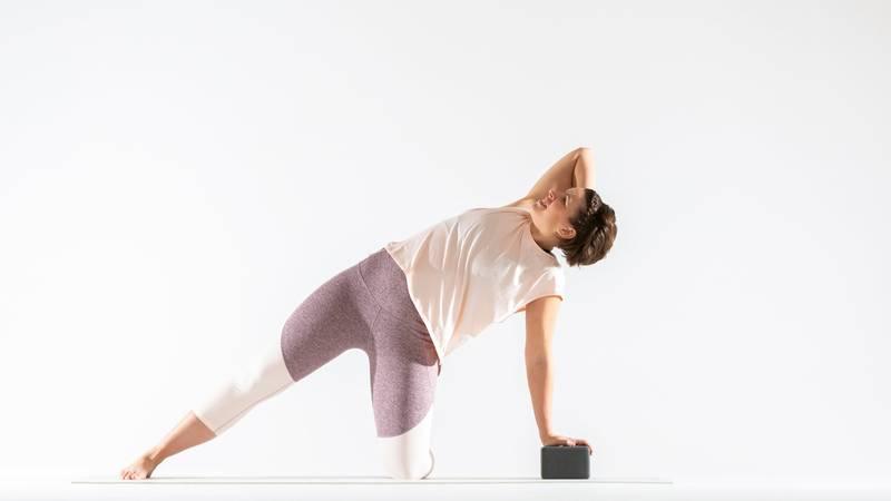 A Go To Gate Pose Sequence For A Sweet Side Body Stretch