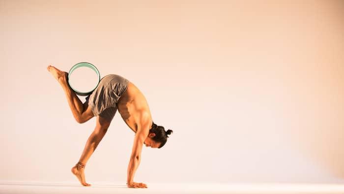 Yoga Wheel Exercises